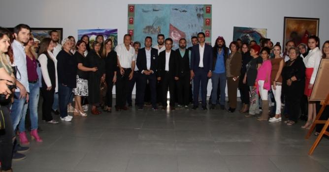'15 Temmuz Demokrasi Şehitleri Sergisi' açıldı