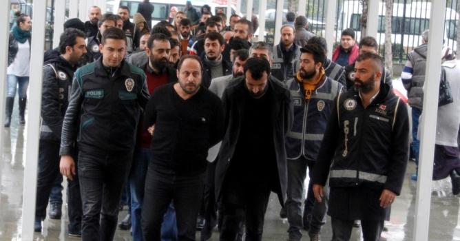 19 kişi tutuklandı