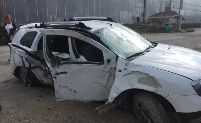 Kargıcak'ta feci kaza