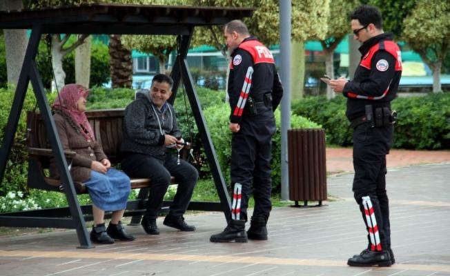 'Mobil Park Polisi'  projesi hayata geçti