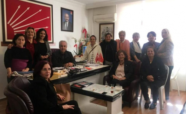 Takavut CHP'li kadınları ağırladı