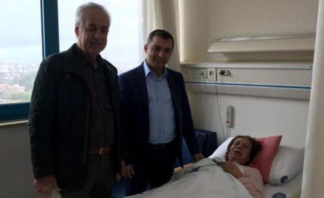 Takavut'a hastanede ziyaret