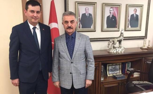 Türkdoğan: Liderimizin  selamını getirdim
