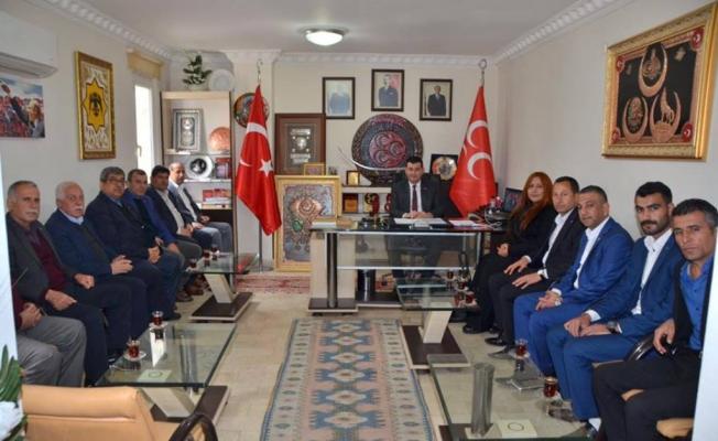Türkdoğan Urfa heyetini ağırladı
