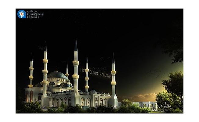 30 bin kişilik cami Antalya'ya çok yakışacak