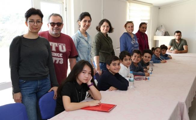 ALKÜ-SEM'de çocuklarla  felsefe dünyasına yolculuk