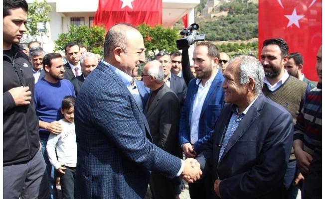 Bakan Çavuşoğlu Alanya'da Şehit Uzman Çavuş İçin Okutulan Mevlide Katıldı
