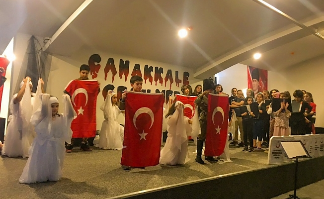 BİL'de Çanakkale  şehitleri anıldı