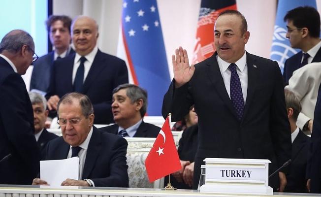 Çavuşoğlu Özbekistan'da