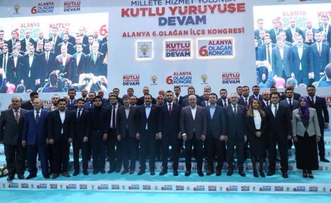 İl Kongresine Erdoğan  ve Çavuşoğlu katılacak