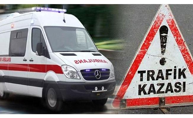 Mahmutlarda feci kaza: 1 ölü