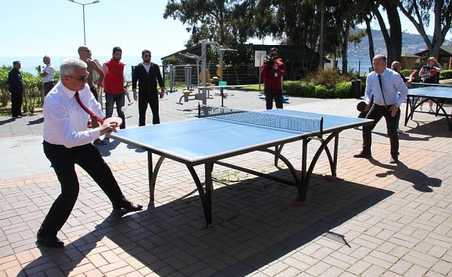 Masa Tenisi Günü yapıldı