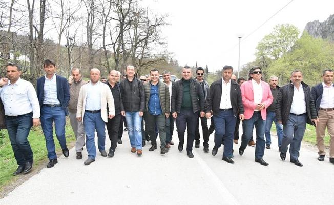 Muhtarlar Makedonya gezisinden memnun kaldı