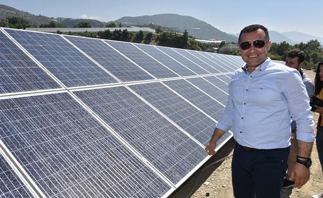 """Alanya'nın enerji kaynağı """"Güneş"""""""