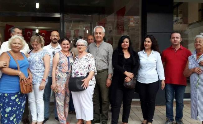 CHP Mahmutlar'a seçim ofisi açtı
