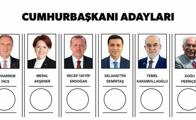 Cumhurbaşkanı adaylarının  pusula kurası çekildi
