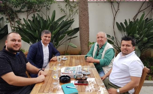 Kocaman'dan Zamanoğlu ailesine ziyaret