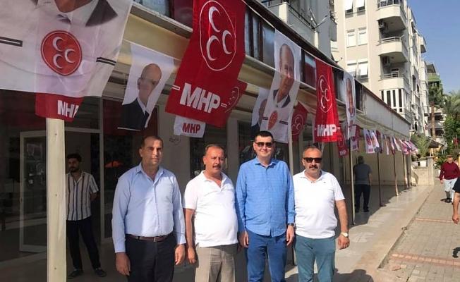 MHP seçim ofisi açıyor