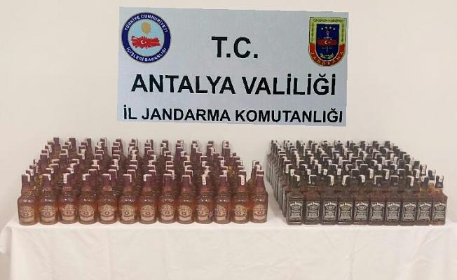 432 litre kaçak içki ele geçirildi
