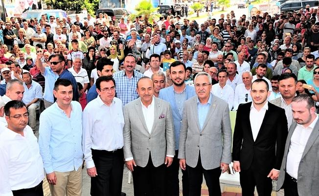 Alanya'da gündem Bakan Çavuşoğlu
