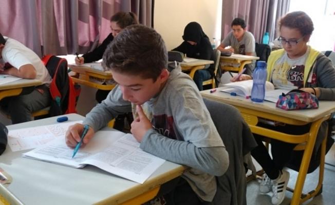 Alanya'da sınav  heyecanı yaşandı