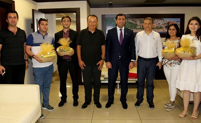 Azeri gazetecilerden ALTSO'ya ziyaret