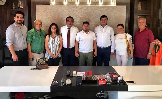 CHP'den Zamanoğlu'na ziyaret