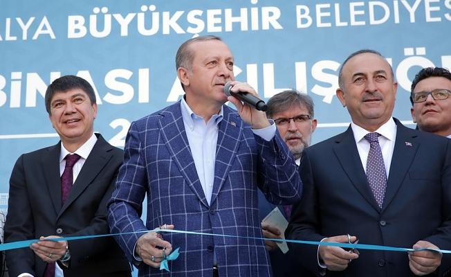 Erdoğan, Antalya'ya geliyor