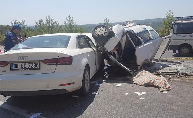 Feci kazada 3 ölü, 4 yaralı