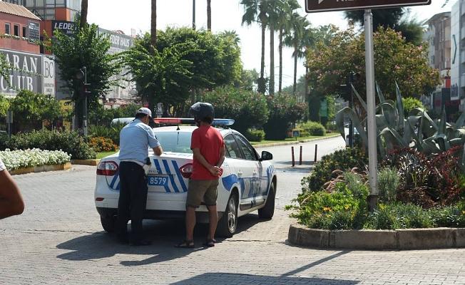 Alanya polisinden aralıksız denetim