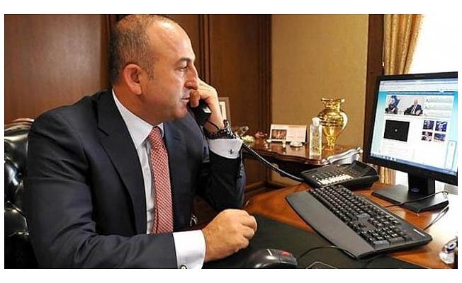 Çavuşoğlu'dan Yunanistan'a Taziye Telefonu: Yardıma Hazırız