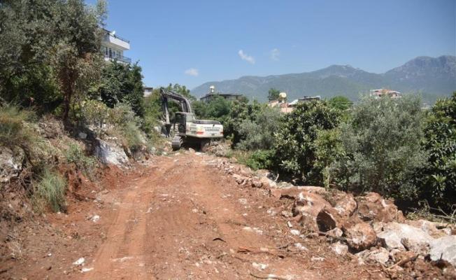 Karakocalı'da imar yolu açılıyor