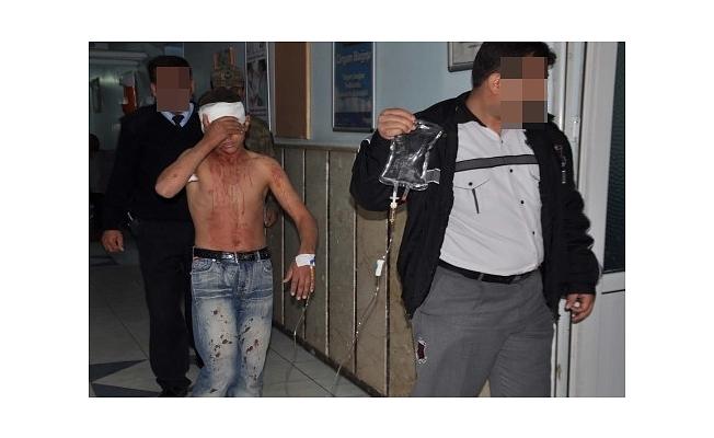 Mahmutlar'da Suriyeliler birbirine girdi 10 yaralı