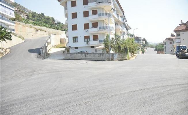 Alanya Belediyesi'nden asfalt atağı