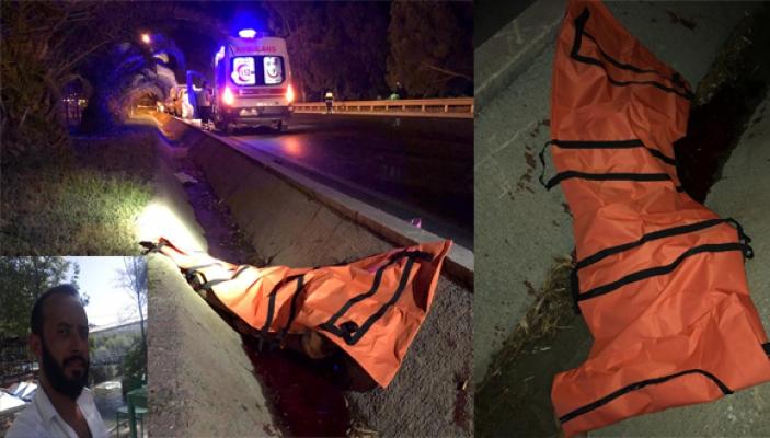 Alanya'da motosiklet refüje çarptı: 1 ölü, 1 yaralı