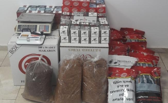 Jandarma Alanya'da kaçak tütüne geçit vermiyor