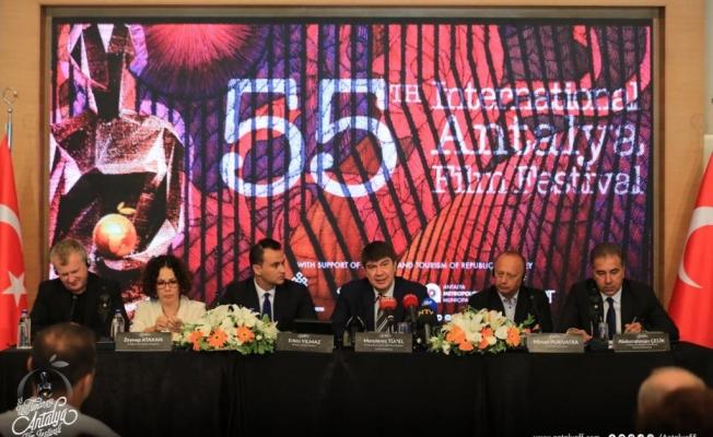 Uluslararası Antalya Film Festivali kapılarını 55'inci kez açıyor