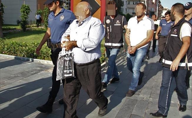 Alanya'da yakalanan 10 kişilik çete