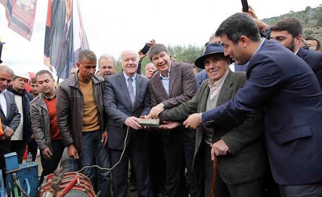 ASAT Gazipaşa'da hizmet oldu yağdı