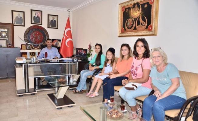 Asenalardan Türkdoğan'a ziyaret