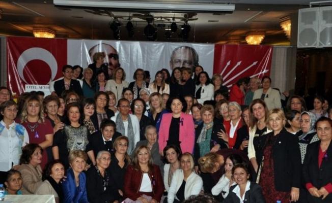 CHP'li kadınlar yerel seçimlerin startını verdi