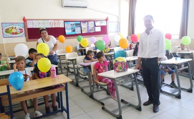 Okula uyum haftası başladı
