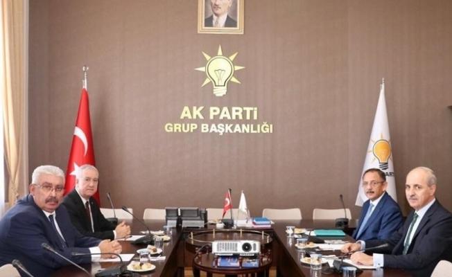 Ak Parti ve MHP ittifak çalışmalarına başladı