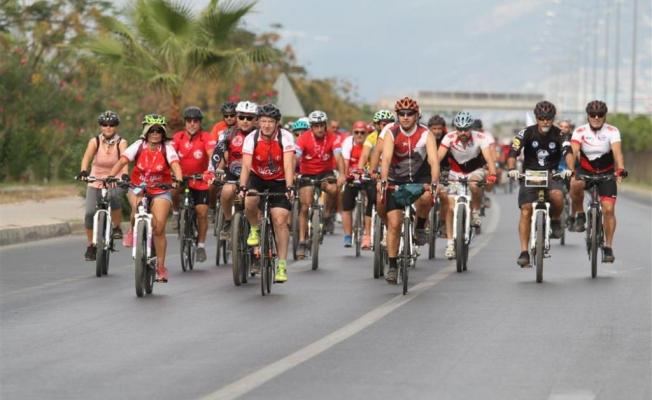Alanya Bisiklet Festivali başladı