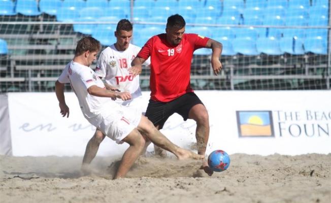 Beach Soccer Cup'da  şampiyon Lokomotıv BSC