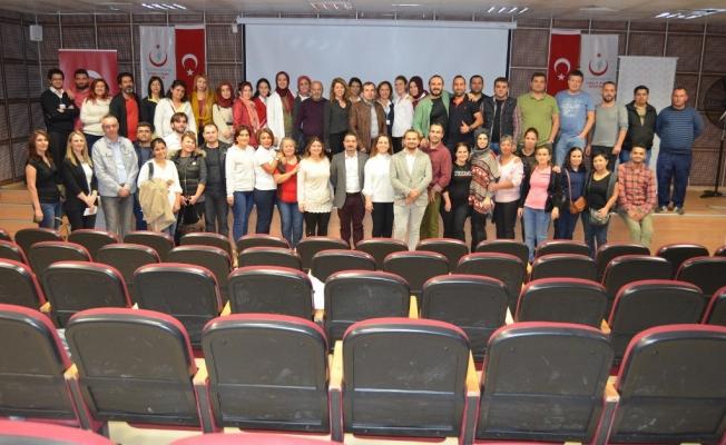 'Acil Servislerde Etkili İletişim'  eğitimi Alanya'da gerçekleştirildi