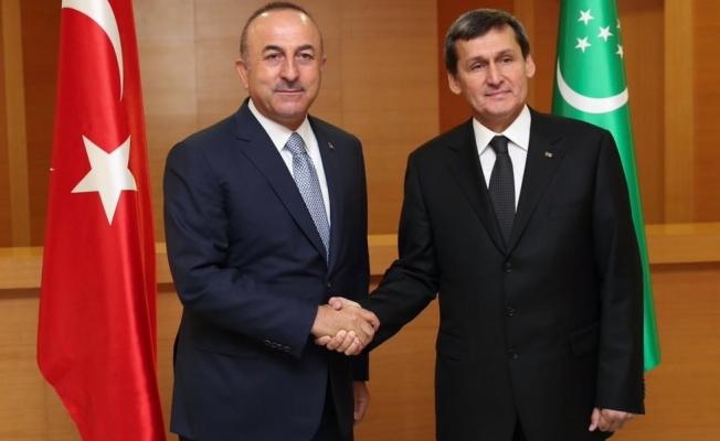 Çavuşoğlu: FETÖ konusunda en cesur ülkelerden biri Türkmenistan