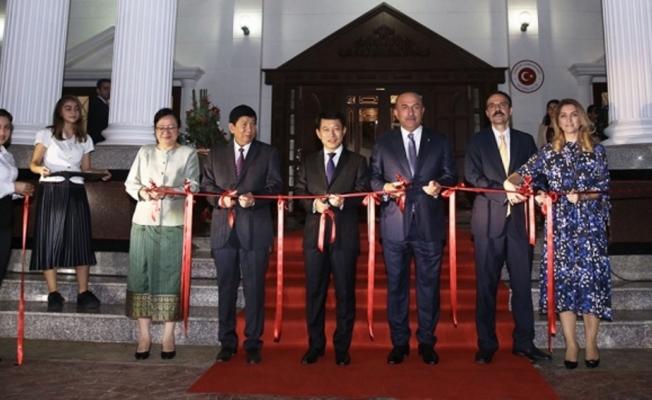 Çavuşoğlu, Laos'ta büyükelçilik binasını açtı