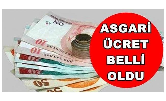 2019 Asgari ücret belli oldu!