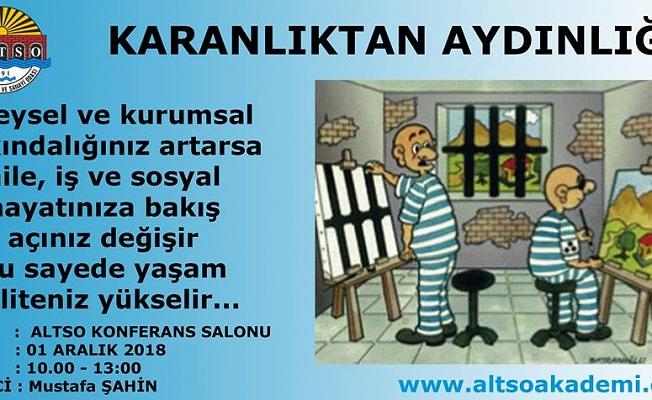 ALTSO AKADEMİ'DEN BİR SEMİNER DAHA